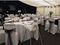 50 chair covers and sashes £50 pound