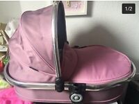 iCandy Peach 3 Carrycot for sale- suitable for iCandy Peach pram/stroller/pushchair