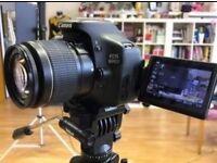 Canon 600D + 18-55mm lens