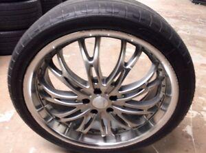 Mazda CX-7 G2 wheels Rims, Durun tyres Wellington Point Redland Area Preview