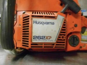 WANTED:Husqvarna 262xp chainsaw