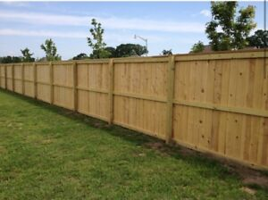 FENCES FENCE POST DECKS AND FOOTINGS!!