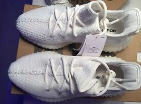 adidas yeezy boost 350 v2 triple white/cream UK 6.5 With Receipt