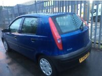 2001 FIAT PUNTO 1.2 PETROL MANUAL 5 DOOR CHEAP CAR