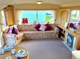 Static holiday home for sale,north west,Ocean edge, 4*Holiday Park,Sea views