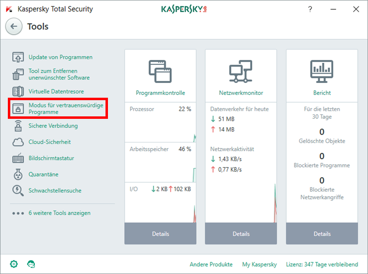 Kaspersky Total Security 2019 1PC, 2PC, 3PC oder 5PC / Geräte (1 und 2 Jahre )