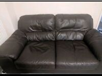 2 seater leather sofa can deliver