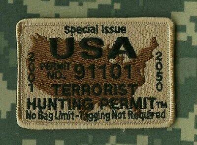 JSOC SEAL SPECIAL WARFARE TALIBAN WHACKER DEATH SNIPER DD: Terrorist Hunt Permit