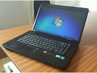 OFFER HP Compaq Black Notebook Laptop 4GB 160GB Webcam Bluetooth