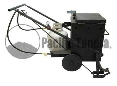 Asphalt Crack Sealer Applicator - 10 Gallon - Commercial Duty - 4ft Hose