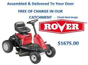 Rover Micro Rider Ride On Lawn Mower  Last Of Australian Stock! Broadbeach Waters Gold Coast City Preview