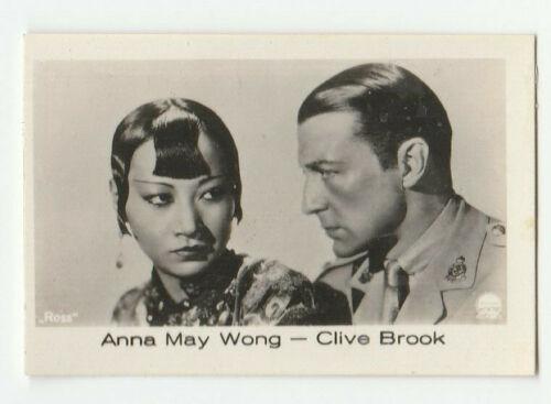 """Anna May Wong card 107 """"RAMSES film-photos"""" Jasmatzi Dresden 1933"""