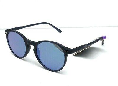 New Women's Foster Grant SUNGLASSES Dark Navy Matte Flat BLUE Mirror US Seller!](Navy Sunglasses)