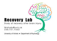 Participants for research into recovery after brain injury -UVic