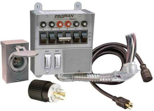 Reliance Controls 3006HDK 6-circuit Generator Power Transfer Switch Kit - NEW!!