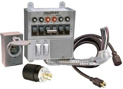 Reliance Controls 31406crk 30amp 6circuit Protran Transfer Switch For Generator