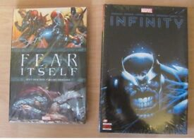 Marvel Fear Itself and Infinity Graphic Novels for Sale Comics