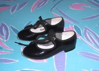 Girls Tap Shoes Excellent Condition - Sizes 9, 9.5 and 2