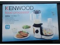 Kenwood Food Processor FP196 Brand New Security Seal intact