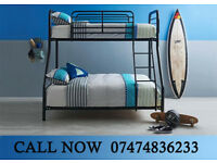 Bunk bed trio or double metal xtY