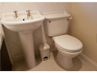 Free - traditional white bathroom suite