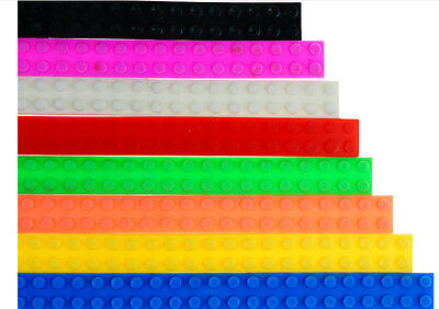 Lego Brick Compatible Adhesive Tape Flexible Strips Kids -1 M/ 3.2 Ft (3 Pack)