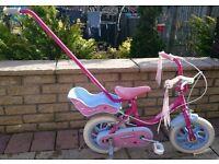 """Girls 12""""bike"""