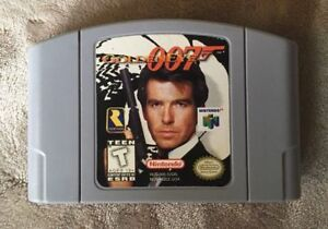 GoldenEye 007 N64 Game Only Tested & Works Nintendo 64 AUTHENTIC