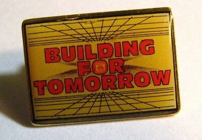 State Farm Insurance Lapel Pin   Vintage Agent Agency Logo Building For Tomorrow