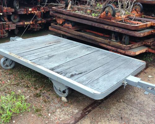 "58"" x 96"" Flat Warehouse Cart"