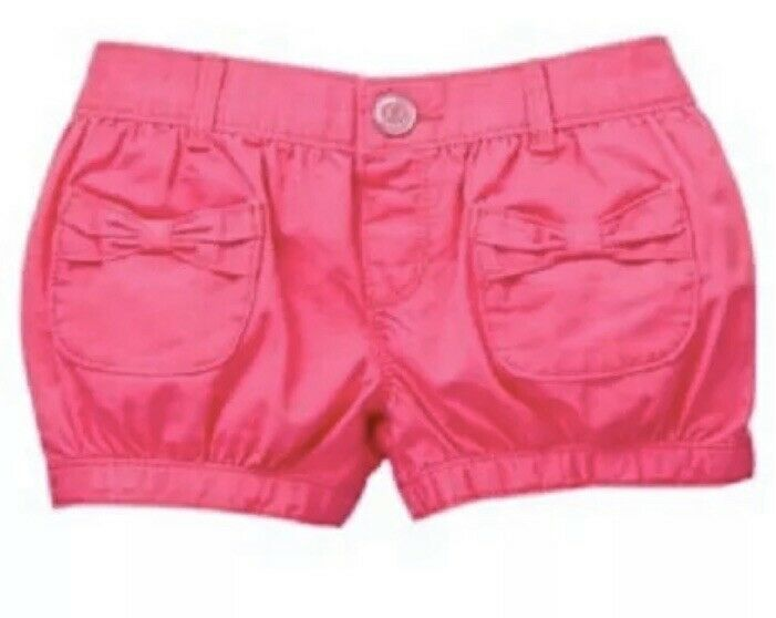 NWT GYMBOREE GIRLS SIZE 3T FRUIT PUNCH PINK BUBBLE SHORTS NEW