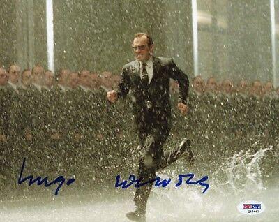 Hugo Weaving ++ Autogramm ++ Matrix ++ Herr der Ringe + V wie Vendetta Autograph