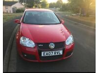 VW GOLF GT-TDI 170BHP New 12 M MOT Full Service History £2600