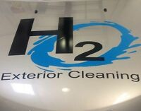 H2o exterior cleaning