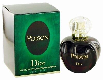 Christian Dior Poison 1oz EDT Women's Perfume Rare Classic Packaging