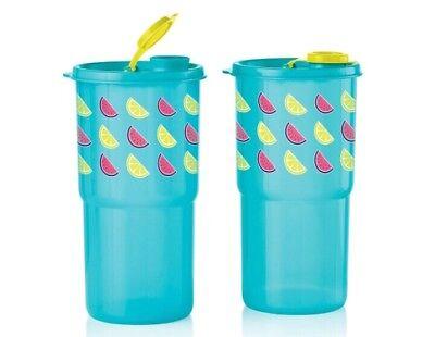 Tupperware Thirstquake Tumblers - set of 2