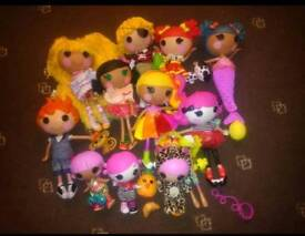 La La Loopsy dolls,