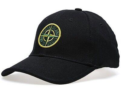 SALE BRAND NEW Stone Island black baseball cap