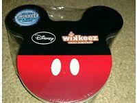 Disney wikkeez tin 8 wikkeez brand new and sealed