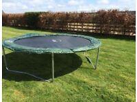 10 ft plum trampoline