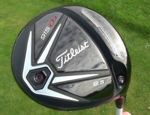 Titleist 915 D3 Driver and 915f 3 wood