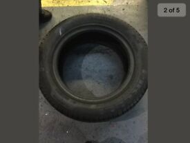 Pirelli 235 55 17 99w p7 used good condition two tyres no puncture repairs