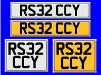 AUDI TT RS32 VW R32 Cherished number plate R532 CCY Volkswagen Golf VeeDub fees included