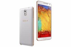 Samsung Note 3 white 16GB condition brand new unused in box