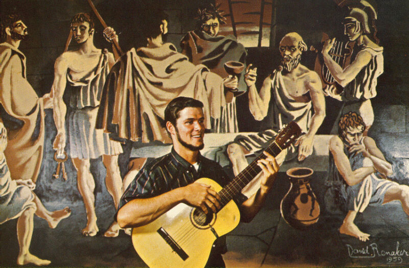 Tim Morgon at The Prison of Socrates - Folk LP