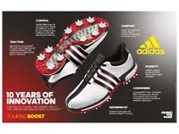 Adidas Tour 360 Boost golf shoes!! Only £89.95!!!