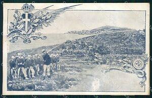 Militari 24º Reggimento Fanteria Gaeta ABRASA cartolina XF0820 - Italia - L'oggetto può essere restituito. - Italia