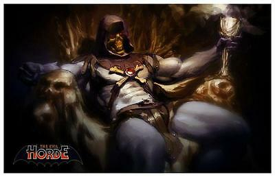 He-Man *POSTER* Master of the Universe *AMAZING* MOTU He Man SKELETOR Evil Horde