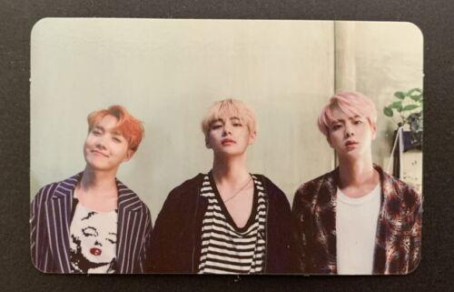 BTS-Memories Of 2016 TAEHYUNG+JIN+JHOPE  PHOTO CARD