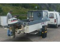 25hp fishing boat